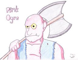 Pink Ogre by WesyWesWesSoFresh