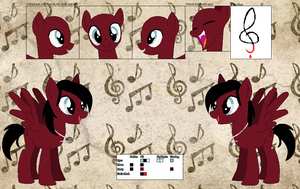 Redemption's official reference sheet by Starlollipop