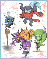 The deadly 6! dun dun duhhhnnnnn by chibiirose