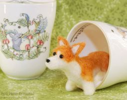 Teacup Corgi by HowManyDragons
