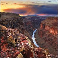 Rio Grande Gorge Bridge, NM by kimjew