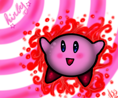 Kirby the king pink xD by Mad-Stalker