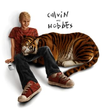 Calvin And Hobbes, Duo Contest by Tyleen