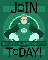 Green Lantern War Poster Shirt by LuluDubYou