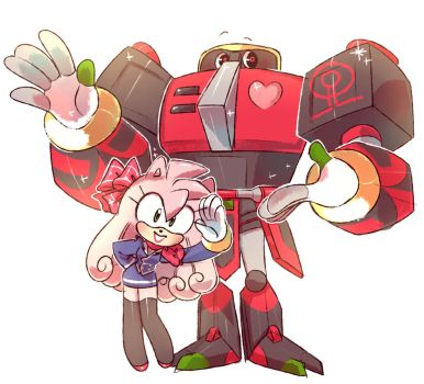 Amy and Omega by Evarozee