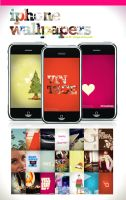 iPhone Wallpaper - Set 2 by angelaacevedo