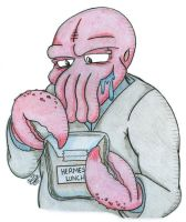 Dr. Zoidberg Of Futurama by AK-Is-Harmless