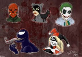 Favorite .. villains? by Mashak-B