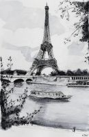 Sold - Eiffel Tower - Paris by nicolasjolly