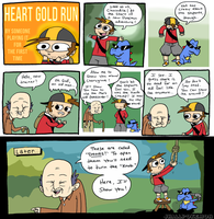 Heart Gold Run 2 by JHALLpokemon