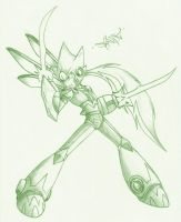 Scyther Armored Zero by Spade03