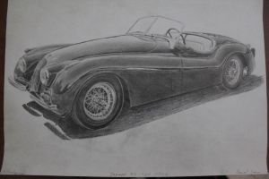 Jaguar XK-120 1947 Finished by daharid