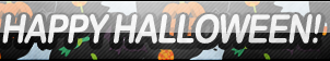 [HOLIDAY] Happy Halloween Button by JustButtons
