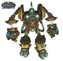 WoW Clockwork Giant Cut Out by atagene