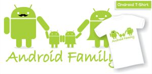 Android T-Shirt Design by indrorobo