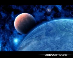 Arrakis - Dune by Arkanjel8