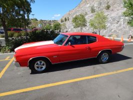 1971 Chevrolet Chevelle SS by TheHunteroftheUndead