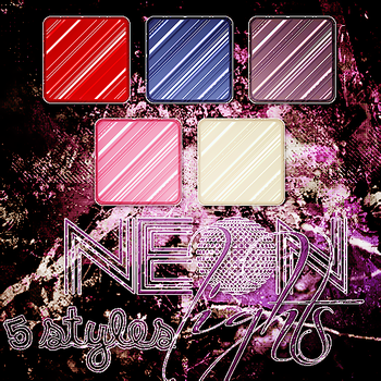 +Styles #1 'Neon Lights' by andres-garzia