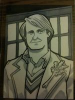 The Fifth Doctor by JoelRCarroll