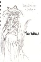 Meridies Character Design by Valeyla