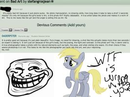 Art Troll? by DADERPSTER