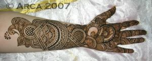 indian henna with bride by arcanoide