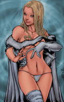 Emma frost (colors) by BraedenPenberg