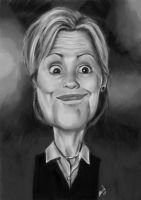 Hillary Clinton by Bardsville