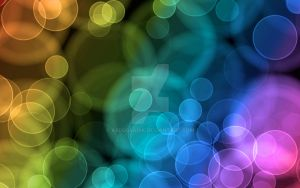 Abstract bubble background by abdussadik
