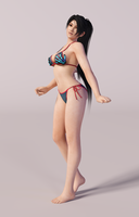 Momiji 3DS Render 9 by x2gon