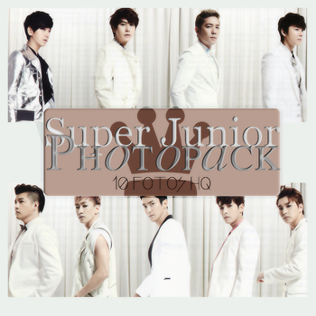 Photopack Super Junior 046 by DiamondPhotopacks