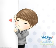 WallKyu! for mmh1516 :3 by Lanaleiss
