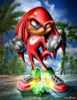 Knuckles the Echinda by guerotheartist