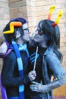 Be my kismesis - Eridan and Vriska / Homestuck by akiuSerket