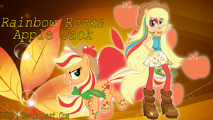 Rainbow Rocks WP Apple Jack by MLR19