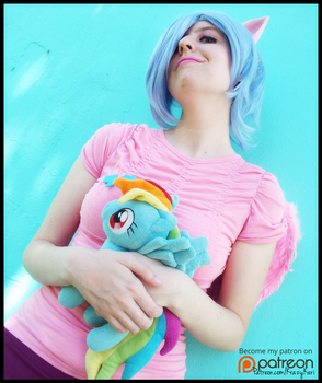 (MLP) Mom and Daughter (Firefly Cosplay) by KrazyKari