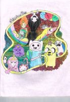 ADVENTURE TIME by jamie23drawer
