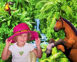 She like free horses. by olones