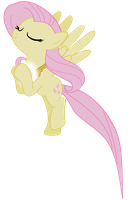 Elemental Fluttershy by pageturner1988