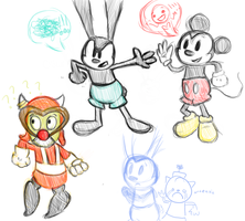 Epic Doodles by pingas-eater