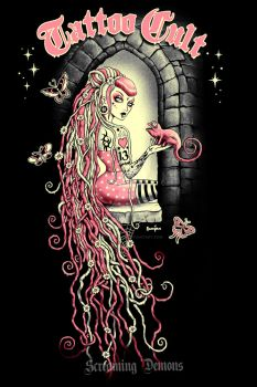 Tattoo Cult 11. Rapunzel by MarcusJones