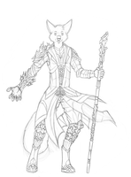 Wizard WIP by 7THeaven
