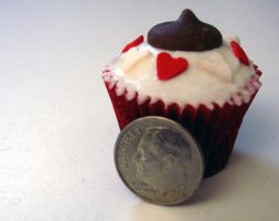 Dime Sized Cupcake by csquad