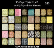Vintage Texture set 11 by chupla