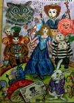 Alice in Wonderland by plastic-anime