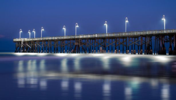 Pier After Sunset by TabithaS-Photography