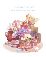 Happy New Year 2013 by warinmon