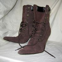 steampunk boots by Meltys-stock