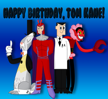 Happy Birthday, Tom Kane! by Cyber-murph