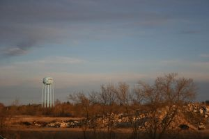 The Desolate Water Tower by Gemn2000